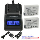 Kastar Battery LCD Fast Charger for Canon LP-E8 LC-E8 & Canon EOS Kiss X5 Camera