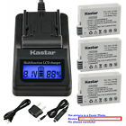 Kastar Battery LCD Fast Charger for Canon LP-E8 LC-E8 & Canon EOS 600D Camera