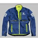 Husqvarna Motorcycles Gotland Polyester Off road Mens Jacket Blue New