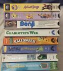 VHS MISCELLANEOUS CLASSIC FAMILY/CHILDREN VHS MOVIES