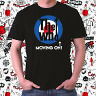 The Who Moving On Tour 2019 Logo Men's Black T-Shirt Size S to 3XL image