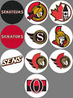 Ottawa Senators Set of 10 Buttons or Magnets 1.25 inch $4.5 USD on eBay
