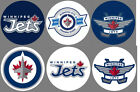 Winnipeg Jets 6 Buttons or Magnets Set 1.25 inch $3.0 USD on eBay