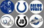 "Indianapolis Colts Set of 6 Buttons or Magnets 1.25"" $3.0 USD on eBay"