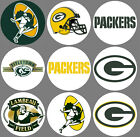 """Green Bay Packers Set of 8 Buttons or Magnets 1.25"""" $4.5 USD on eBay"""