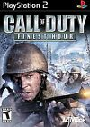 .PS2.'   '.Call Of Duty Finest Hour.
