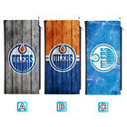 Edmonton Oilers Woman Men Leather Clutch Wallet Bifold Purse Handbag $12.99 USD on eBay