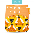Happy Flute Girl Boy Baby Cloth Diaper Reusable Washable Pocket Nappies +Insert