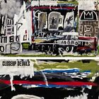 """45W""""x26H"""" NEW YORK, NY by JEAN-MICHEL BASQUIAT - GRAFFITI MASK CHOICES of CANVAS"""