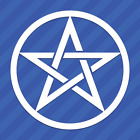 Home Decorating Flooring Ideas Pentacle Vinyl Decal Sticker Timber Frame Home Decorating