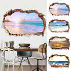3d Floor Wall Stickers Beach Removable Mural Decals Bathroom Bedroom Home Decor