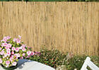 Natural Peeled Reed Screening Garden Screen Fence Fencing 1m 1.5m 2m High Pick