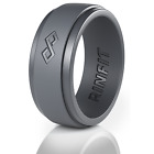 Silicone Wedding Ring for Men - Infinity Collection by Rinfit. Soft rubber bands
