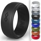 Kyпить Silicone Wedding Ring for Men - Infinity Collection by Rinfit. Soft rubber bands на еВаy.соm
