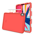 "For iPad Pro 11"" Pro 12.9"" iPad 9.7'' 2018 Silicone Case Cover w Pencil Holder"