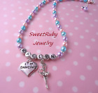 Personalized I Love Dancing Necklace-Dance Girl,Ballerina,Dance Shoes-Dance Gift