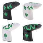 Premium Golf Putter Head Cover Club Headcover Protectors & Clover Pattern