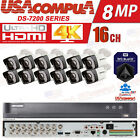 Q-See Security System  4K 16 Channel 5MP Cameras KIT 2.8mm hikvision HDD PURPLE