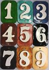 Custom Tile House Post numbers many glaze options . Applewood Pottery Free ship