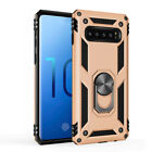 Shockproof Case Magnetic Ring Stand Holder Cover For Samsung Galaxy S10 + Plus