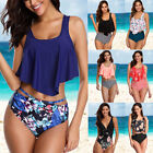 Womens Push Up Padded Bra Bikini Set High Waisted Swimsuit Bathing Suit Swimwear