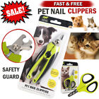 Pet Nail Clippers Cat Dog Nails Trimmer Easy Cutting Claw Cutter Grooming Tool