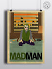 JOKER BATMAN Heath (Madman) - Minimalist Movie Poster Posteritty Minimal Design