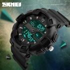 SKMEI 1189 Men Dual Display Watches Outdoor Quartz Sports Casual Wristwatches image