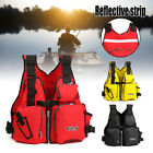 Adult Adjustable Buoyancy Aid Sail Kayak Canoeing Fishing PFD Life Jacket Vest
