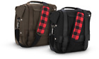 Universal Motorcycle BURLY BRAND Saddlebag to Quick Release Messanger Bag NEW