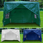 Heavy Duty Gazebo Marquee Canopy Waterproof Wedding Party Tent 3Mx3M/3Mx4M/3Mx6M <br/> 2 Size&amp;4 Colours✔w/6 Sides✔w/Windbars✔Easy to Assemble✔