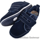 Ladies / Womens Casual Leather EEE Wide Fitting Trainer / Pumps / Shoes