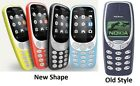 New Dual Sim 2g Basic Nokia 3310 Unlocked Sim Free Cell Phone Camera Uk Stock