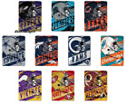 "NFL Deep Slant Micro Super Plush Throw Roll Blanket 46"" x 60"" on eBay"