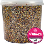 SQUAWK Mixed Poultry Corn - Deluxe High Energy Food Feed For Chicken Geese Duck