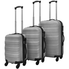 vidaXL 3 Piece Hardcase Trolley Set Trip Travel Luggage Suitcase Multi Colors