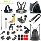 Accessories Kit Bike Chest Strap Clip Monopod Backpack for Sony Action Camera