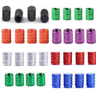 4pcs Wheel Tyre Tire Valve Stem Air Dust Cover Screw Cap Car Truck Bike 7 colors on eBay