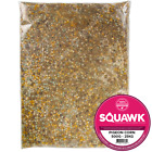 SQUAWK Four Seasons Pigeon Corn - Deluxe Protein Rich Wild Bird Seed Food Mix