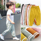 Unisex Baby Toddler Boy Full Length Pull-On Joggers Sweatpants 2T-10