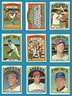 Kyпить 1972 Topps 5th Series Semihigh (526 to 656) U Pick (1) на еВаy.соm