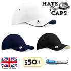 Golf Baseball Cap PGA Tour Masters Water Repellent Coolmax Mens UPF 50+ Hat