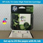 HP 61XL High-Yield Ink Cartridge (Black or Tri-Color) Retail Box, EXPIRE 2020 !