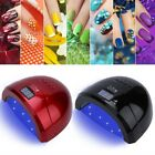 48W UV LED Lamp Nail Dryer Dual Light Source Gel Polish Lamp Light Manicure Tool