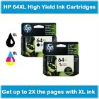 Kyпить HP 64XL High-Yield Single Ink Cartridge in Box (Black or Tri-Color), EXP 2020 ! на еВаy.соm