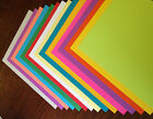 100 Mixed Color CardStock Various Sizes Great for Scrapbooking