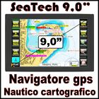 NAVIGATORE GPS NAUTICO CARTOGRAFICO PLOTTER - DISPLAY 9,0