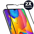 2x Huawei P30/Lite Panzerfolie Curved Display Schutz Glas Full Screen Echt Glas