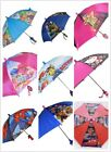 Little Girls Boys School Cartoon Rain Sun Umbrella Kids Children Toddler Gift