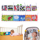Infant/Baby Taf Toys Dual Sides Clip-on Pram Book Intelligence Development Toy